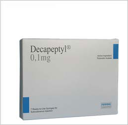 Buy Decapeptyl Cr 375mg Online At Low Prices Decapeptyl Injection